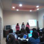 """Taller: """"Figuras planas en movimiento. Geogebra"""", a cargo de la Prof. Teresa Espinosa. Junio 2016"""