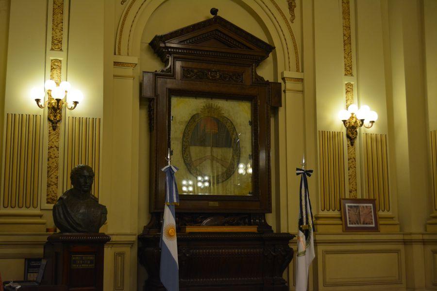 Salón de la Bandera. Casa de Gobierno. Jujuy. Argentina