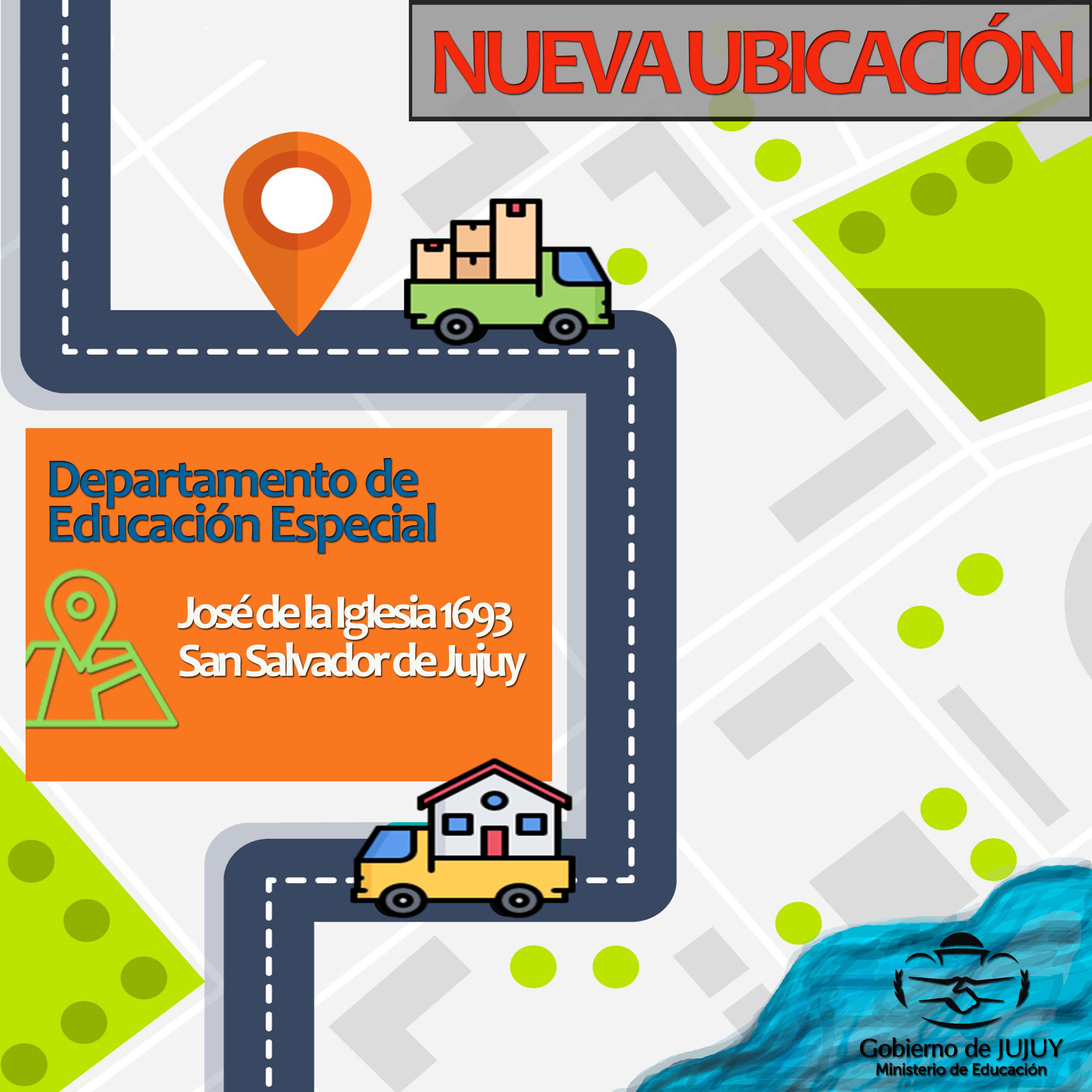 placa informativa departamento  educacion especial