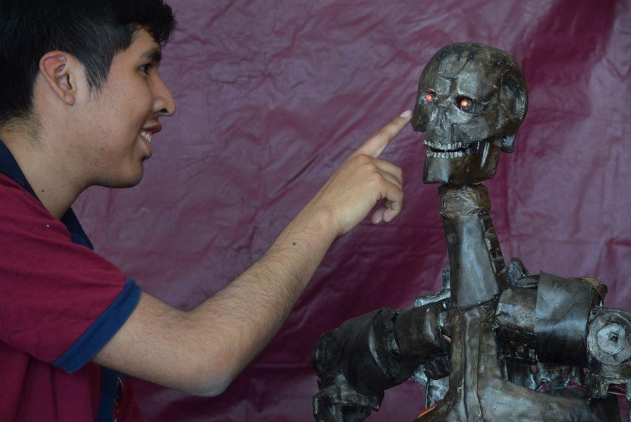 La Robótica es una de las propuestas centrales de Infinito por Descubrir.