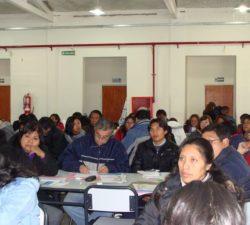 2016. Capacitación a directivos y docentes de La Quiaca
