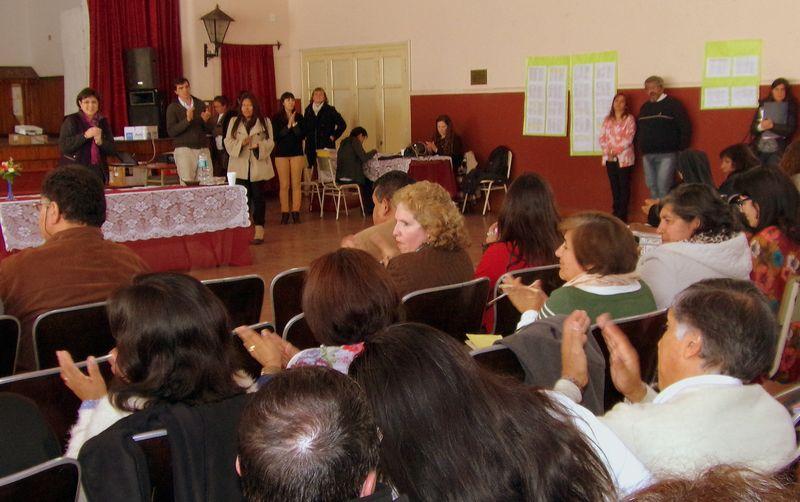 Calsina dialogó con directores por el operativo Aprender