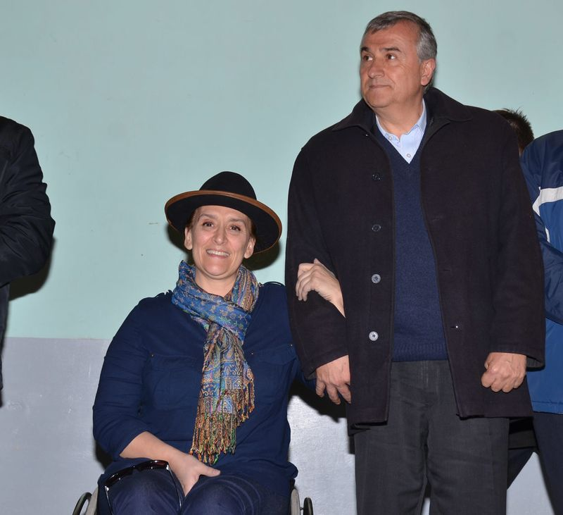 El Gobernador Gerardo Morales y la Vicepresidente Gabriela Michetti