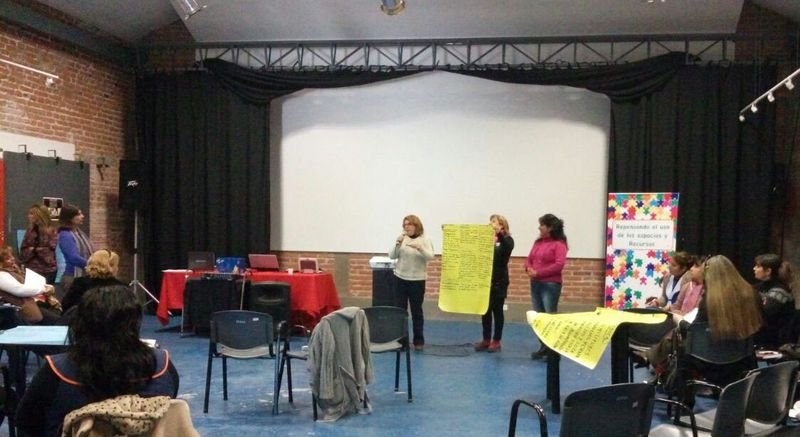 """Jornada regional del proyecto """"Repensando el uso de los espacios y recursos"""""""