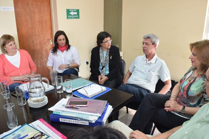 Visita del director nacional de Educación Secundaria a Jujuy