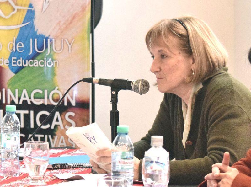 Alejandra Mollom, coordinadora de Políticas Educativas