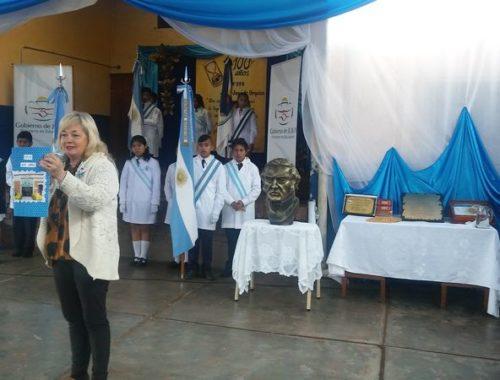 """Centenario de la escuela Nro. 293, """"JUSTO JOSÉ DE URQUIZA"""", de Parapetí, San Pedro de Jujuy."""