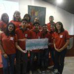 """2017. Concurso """"Mi factura, por favor!..."""", primer premio para la Escuela de Educación Técnica Nro. 1 Gral. Savio"""", Palpalá."""