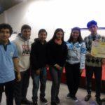 Ganadores de la instancia semifinal del concurso.
