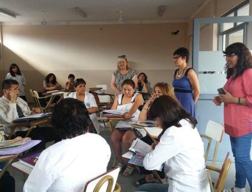 Docentes y directivos participaron de Ateneo Didáctico en Lengua. Noviembre 2017