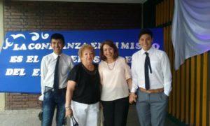 Reconocen a los mejores compañeros en las escuelas de Jujuy. Diciembre 2017