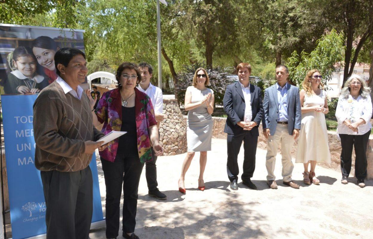 La octava cohorte de la capacitación en Liderazgo e Innovación que brinda a directores de escuelas la Fundación Varkey, concluyó este jueves con la entrega de certificados a los participantes en un acto realizado en Purmamarca. Diciembre 2017