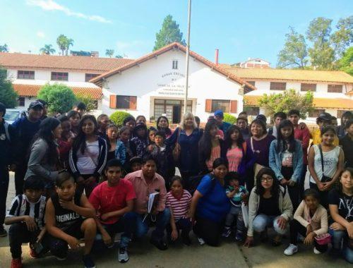 La secretaria de Gestión Educativa del Ministerio de Educación, Aurora Brajcich, despidió a los alumnos de nivel primario y secundario de las escuelas de Coyaguayma, Nuevo Pirquitas, Orosmayo, Liviara y Loma Blanca, que partieron hacia Chapadmalal. Enero 2018