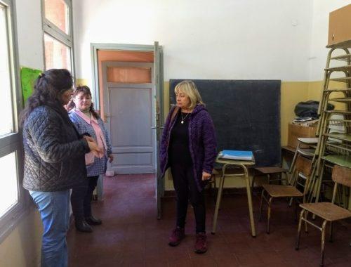 Verifican estado de situación de las escuelas del norte de la provincia, previo al inicio de clases. Marzo 2018