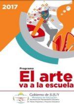 """Propuesta destinada a docentes de Educación Artística, de Educación Inicial y  de Educación Secundaria de regiones educativas II, III y IV de la Provincia de Jujuy, con el propósito de """"Generar una instancia formativa  para docentes del área de Educación Artística, en donde las obras de artes, sean  ejes centralizadores de  experiencias de aprendizaje para la comprensión y producción de  la cultura a través de cambios innovadores en las prácticas escolares """""""