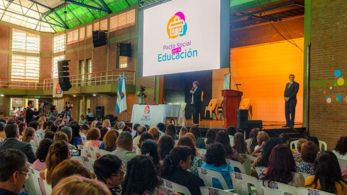 Masiva participación docente por el Pacto Social por la Educación