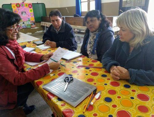 Realizan seguimiento en escuelas rurales. Marzo 2018