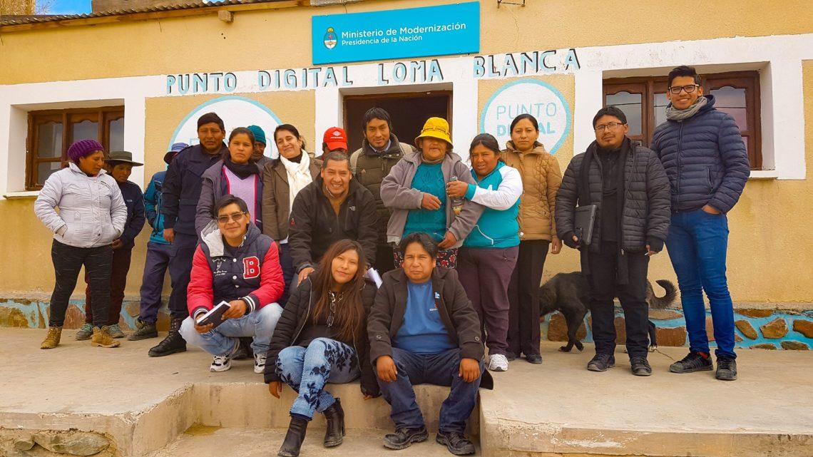 Comunidad aborigen de Loma Blanca se suma al pacto.