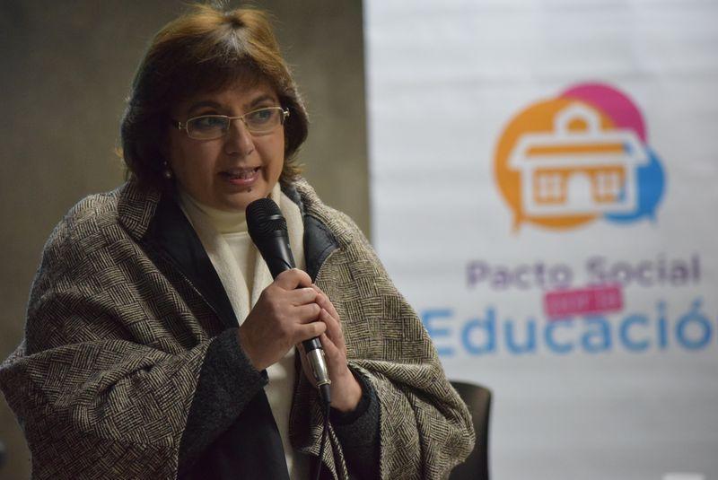 Explicaron a jefes comunales aspectos del Pacto Social por la Educación. julio 2018