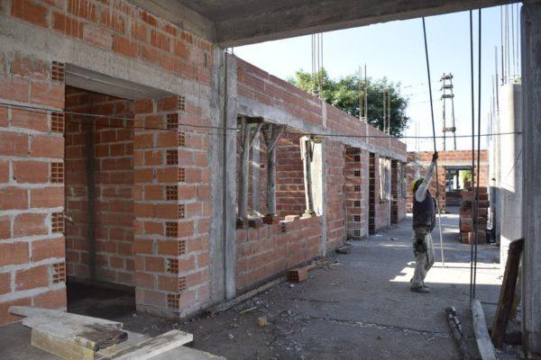 Construcción nuevo edificio Colegio Armada Argentina